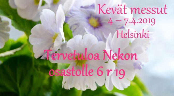 Neko kevät messuilla Helsingissä